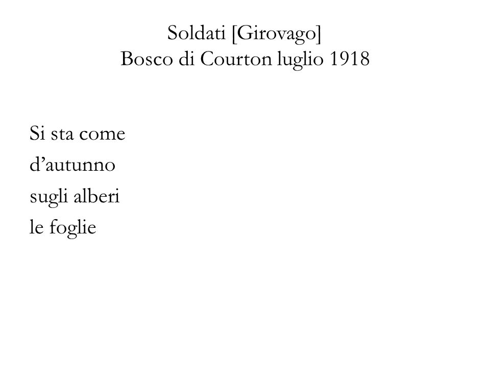 Soldati [Girovago] Bosco di Courton luglio 1918
